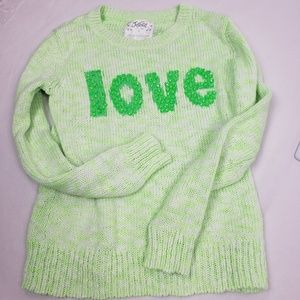 Other - SUPER SALE Like New Girls Justice Sweater Size 10